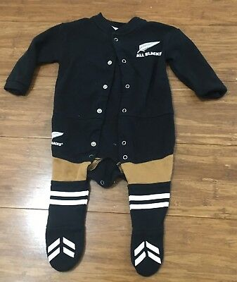 Baby All Blacks Suit Size 00