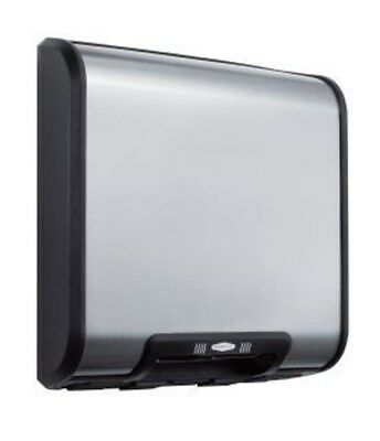 ADA Compliant Version --Bobrick B-7128115V TrimDry Automatic Hand Dryer, Steel