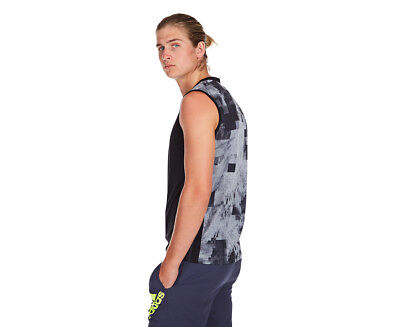 Adidas Men's Cool 365 Sleeveless Tee - Black