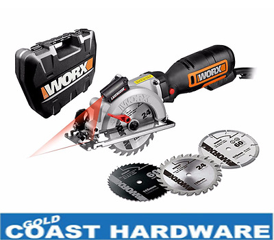 Worxsaw NEW MODEL WX427 120mm Professional Handyman Work Saw - WORX