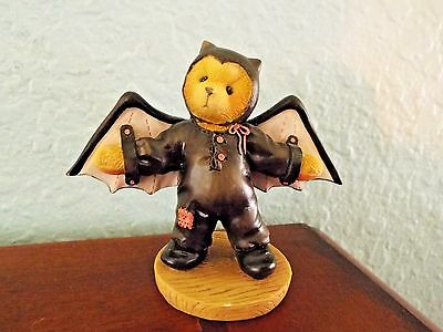 1997 Cherished Teddies Barry I'm Batty Over You Figurine FREE SHIPPING