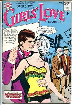 Girls' Love Stories #108-Dc Romance-Frank Sinatra Cover Vg