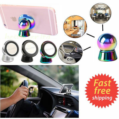 Universal Steelie Magnetic Ball Mobile Phone GPS Holder Car Dash Mount Kit NEW