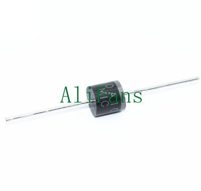 10PCS 10A10 R-6 10A 1000 Volts Silicon Rectifiers 1KV Diodes IC NEW