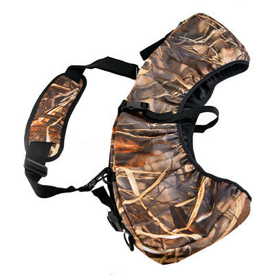 New Neoprene Hunting Bow Sling Wrapper Compound Holster Archery Belt Bag Bow Bag
