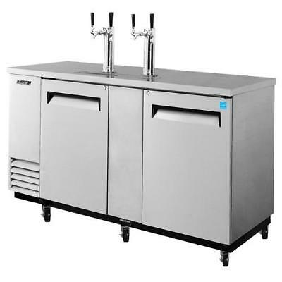 Turbo Air - TBD-3SD - 69 in Stainless Steel Draft Beer Dispenser