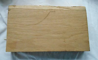 Slab of American oak timber, never used