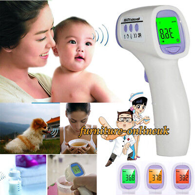 Universal Digital Infrared Termometer Baby Adult Forehead Water Non-Contact LCD