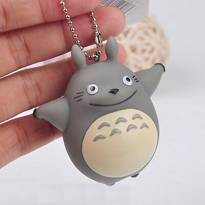 Anime Cartoon My Neighbor TOTORO Action Figures Toy Key Chain Pendant 7cm
