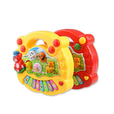 New Baby Kids Musical Educational Animal Farm Piano Developmental Music Toys