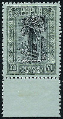 PAPUA 1932 Complete set to £1 hinged mint - 99087