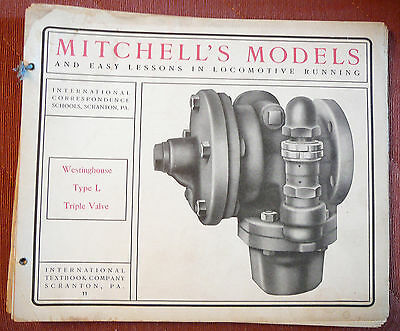 Mitchell's Models Lessons Locomotive Running #11 Westinghouse Type L Triple Valv