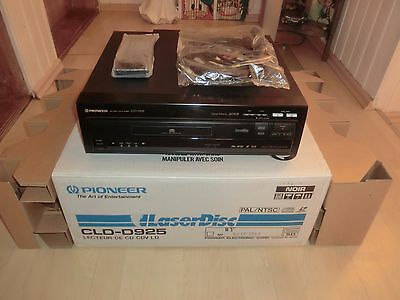 Pioneer CLD-D925 High-End LaserDisc Player, OVP, neuwertig, 2J. Garantie