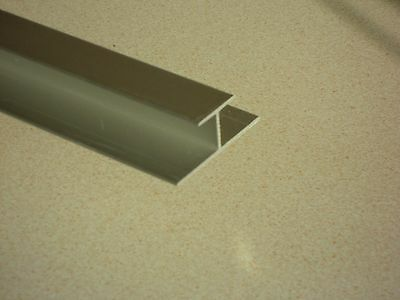 "2 x 1/8"" Aluminium Panel Edge Joints (34mm x 12mmx 3.18mm) VAT Invoice Supplied"