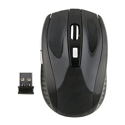 2.4GHz Wireless Optical With USB Receiver Mouse Mice For Computer PC Laptop