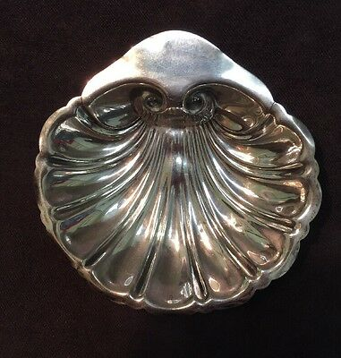 """Sterling Silver By Jennings Scallop Shell Dish 14 Grams <3"""""""