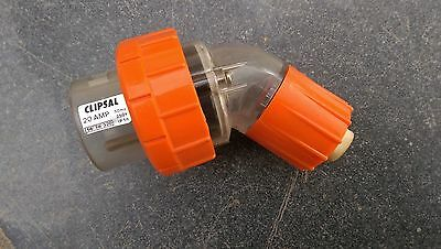 Clipsal 56 Series Plug Top - 20 Amp Single Phase