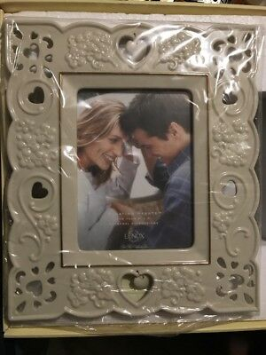 """Lenox Floating Hearts 5"""" X 7"""" Picture Frame 788118"""