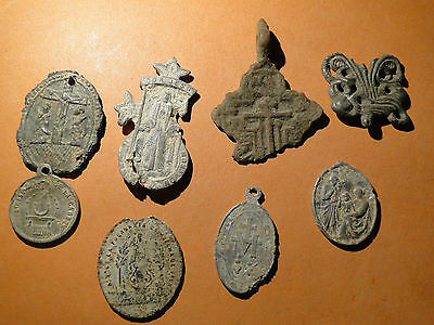 A selection of Christian Artefacts found by Metal Detecting in Cyprus
