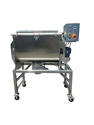 7 Cu Ft Ribbon blender Mixer. Stainless Steel Food Grade
