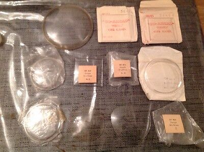 Clock Glass @ Perspex Including Marked Kienzle Blessing Europa New Old Stock