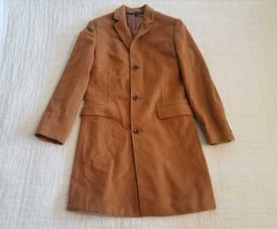 8493ee8ac95 New 36R 40S J Crew Ludlow Topcoat In Italian Wool Cashmere Coat Dark Camel