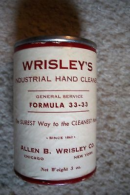 Vintgage Wrisley's Industrial Hand Cleaner Tin