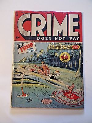 Crime Does Not Pay (1946) #48 Lev Gleson Biro Hatchet Murder True Crime Stories