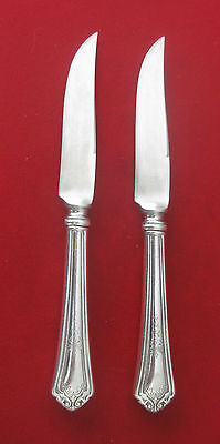 Pair of Reed & Barton  Sterling Silver Fruit Knives from the 1930's