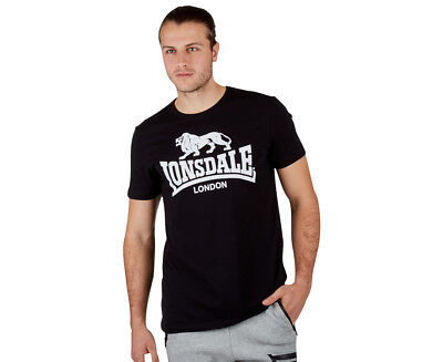 Lonsdale Men's Essentials Norland Tee - Black