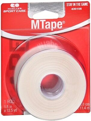 Mueller Sport Care Athletic M Tape White [430105] 1 Each (Pack of 9)