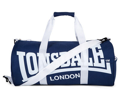 Lonsdale Turner Duffle Bag - Navy/White