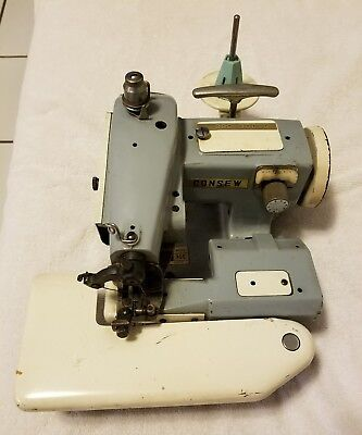 Vintage Consew Model 75C Sewing Machine (Pre-Owned) Untested Made in Japan
