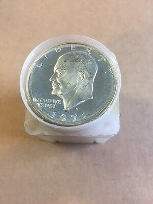 40% Silver Mixed Dates Impaired PROOF IKE Dollars (20 Coins)