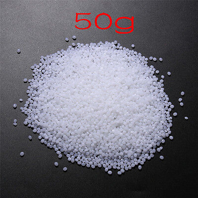 DIY 50g 4mm Polymorph Thermoplastic Moldable Plastic Pellet New