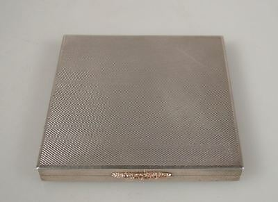 Vintage 1951 Mappin & Webb Sterling Silver Powder Compact