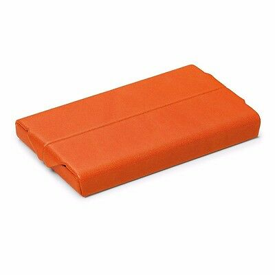Giorgio Fedon 1919 Business Card Holder - Italy Orange  [New]