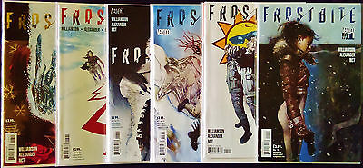 FROSTBITE #1-6 (of 6) COMPLETE 2016 DC Comics Series FLAT RATE SHIPPING