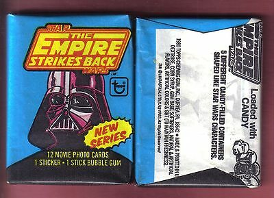 1980 Topps Star Wars EMPIRE STRIKES BACK SERIES 2 Wax Pack (x1)
