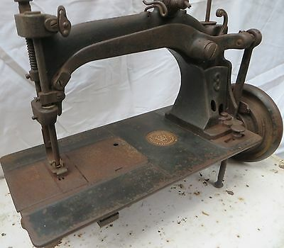 Antique SEWING MACHINE WHEELER & WILSON # 8 Serial no. 513089 dated 1878 NY USA