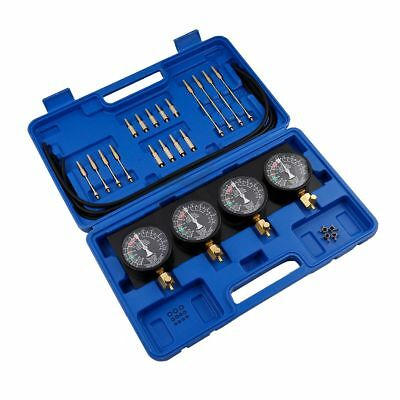Fuel Vacuum Carburetor Synchronizer carb sync Gauge Kit For Rubber Hose