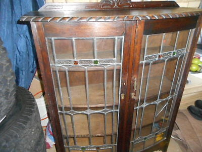 Jacobean Crystal Cabinet