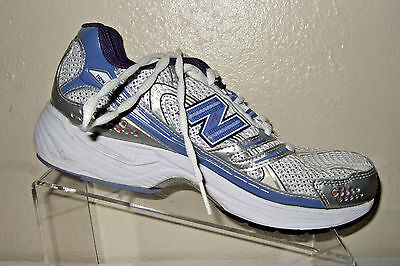 NEW BALANCE 758 Women's White/Purple/Silver Running Shoes Size 7 B