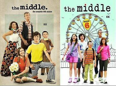 The Middle Season 5 + 6 Series Five and Six New DVD Region 4