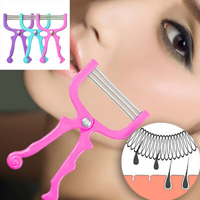 Facial Hair Remover Tool Face Beauty 3 Spring Threading Removal Epilator Epicure