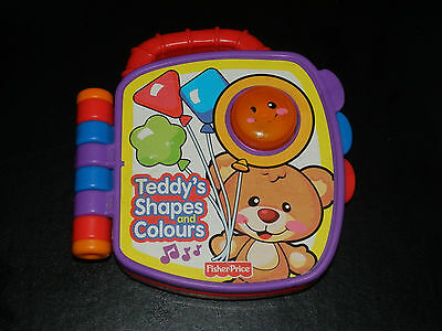 Fisher Price - Teddy's Shapes And Colours