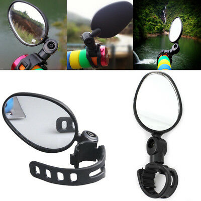 Universal Adjustable Handlebar Rear View Mirror For MTB Cycling Bicycle Bike h2