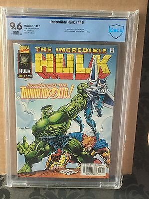 Incredible Hulk #449 - CBCS 9.6 First appearence of Thunderbolts