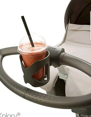 Stokke Cup Holder with bracket - Fits Scoot, Xplory, Crusi - EXCELLENT CONDITION