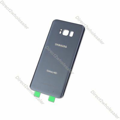 New Orchid Gray For Samsung Galaxy S8+ Plus G955 Back Glass Cover Battery Door